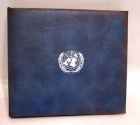 1974 United Nations Proof Silver Medal/FDC Stamp Album