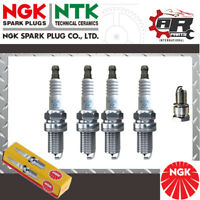 4 NGK SPARK PLUGS For FIAT PANDA 1.2 06- EURO 4