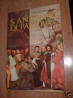 """MERCATINO LIBRI USATI """" S. ANTONIO DI PADOVA ( Libro  di F. Saverio Pancheri"""