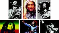Bob Marley Legend 6 Card POSTCARD Set