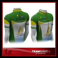 TeamEight CYCLING BICYCLE JERSEY Mens Size M L XL XXL