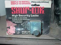 SLIDING GLASS DOOR SHUR- LOK  LOCK