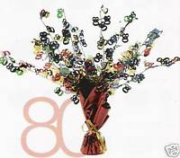 80  /  80TH  CENTREPIECE - FOIL BALLOON WEIGHT PC014080
