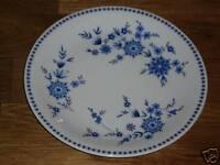 1 Kuchenteller 19 cm Seltmann Weiden Bayerisch Blau