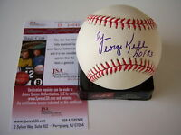 GEORGE KELL DETROIT TIGERS,HOF JSA/COA SIGNED MLB BASEBALL