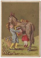 Victorian Trade Card Lavine Washing Powder Hartford, CT