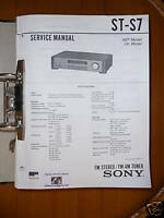 Service-Manual Sony ST-S7 Tuner,ORIGINAL