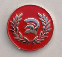 Red Trojan Helmet Ska Reggae Soul Enamel  Pin Badge
