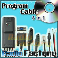 5in 1 Programming cable for GP-328  CM200 CM300 6-023B
