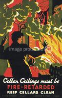 Keep Cellars Clean Works Projects Vintage WPA Poster