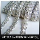 White Gold --- Timeless Designer Beaded Trim *Per yard*