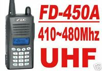 FD-450A UHF410-480MHz Pro Ham Radio+ Earpiece / mic