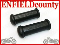 NEW ROYAL ENFIELD LOGO EMBOSSED FOOTREST RUBBER PAIR