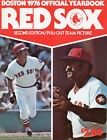 1976 Boston RED SOX Official Yearbook Second Edition