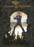 JOHNNY HALLYDAY PROGRAMME TOUR 66. PROGRAMME OFFICIEL.
