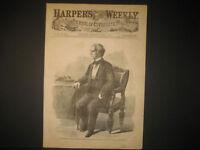Lincoln Assassination William H. Seward Engraving 1865