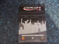2006 LEAGUE CUP FINAL MANCHESTER UNITED V WIGAN