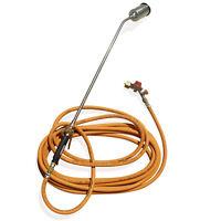 Chalumeau + longue lance+10 mètres de tuyau propane étancheur désherbeur bruleur
