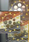 Cartera Oficial en Euros de FRANCIA 1999, 2000, 2001.