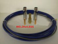 MIG WELDING MB15  3M BLUE LINER, 2 x SHROUDS, 0.8mm TIPS, TIP ADAPTOR & SPRING