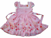 New Girls Pink Summer Party Pageant Dress 9 Months to 3 Years