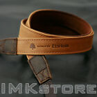 NEW MATIN Vintage-20 TAN Leather Camera Strap for Canon Nikon SONY Fuji DSLR SLR