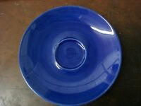 NEW HAND PAINTED BLUE VINTAGE LIMOGES FRANCE SAUCER