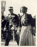Photo Greek Royal Couple Constantine Anna Maria Formal