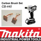 NEW Makita 18V LXT Impact Driver BTD142HW BTD141 Genuine CARBON BRUSH SET CB-440