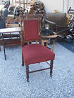 Mahogany Carved Parlor Chair Sidechair  (SC145)