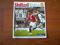 2009 LEAGUE CUP SEMI - FINAL MANCHESTER UNITED v DERBY COUNTY