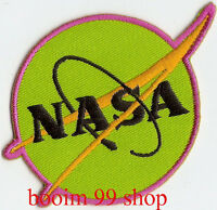 NASA Logo EMBROIDERED Iron on Patch T-Shirt Sew