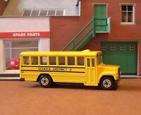 Matchbox Cars School Bus 1:95 (1992) MINT