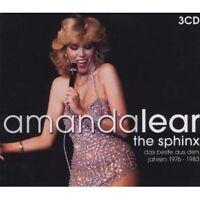 "AMANDA LEAR ""THE BEST OF"" 3 CD BOX NEW!"