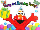 ELMO Edible CAKE Decoration Image Icing Topper Party Supply FREE SHIPPING