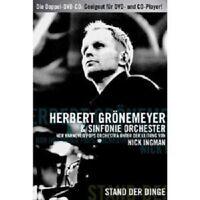 """HERBERT GRÖNEMEYER """"STAND DER DINGE"""" 2 DVD NEW"""