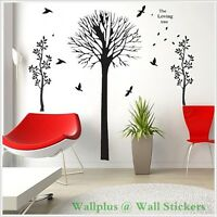 Loving Trees Family Room Living Room Wall Stickers Decal art Mural Decor Paper