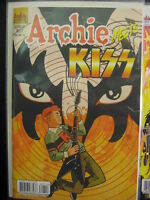 ARCHIE MEETS KISS Issue #627 Variant Cover