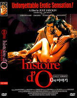 The Story of O / Histoire d`O (1975) New Sealed DVD Just Jaeckin
