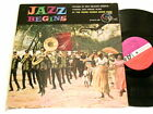 YOUNG TUXEDO BRASS BAND Jazz Begins Paul Barbarin John Brunious LP Jim Robinson