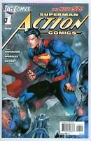 ACTION COMICS #1 VARIANT DC RELAUNCH NEW 52 - FIRST PRINT - VERY RARE 1ST PRINT