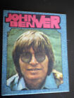 ADESIVO ALBUM STICKER JOHN DENVER FIGURINA TELATA FOTOGRAFIA anni 70-80 rarità