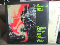 EMERALD WEB Dragon Wings and Wizard Tales rare '79 synth private lp prog w/lyri