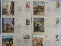 46 FDC ENVELOPPES PREMIER JOUR ANNEE 1971 ERSTTAG FIRST DAY COVER (Lot 5)