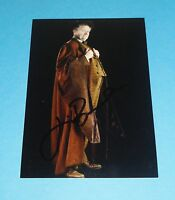JIM BROADBENT GENUINE SIGNED 6x4 PHOTO HARRY POTTER PROFESSOR SLUGHORN + COA