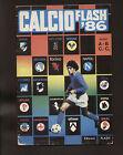 ALBUM FIGURINE EDIZIONI FLASH CALCIO 86 QUASI VUOTO PRESENTI 5 OTTIME CONDIZIONI