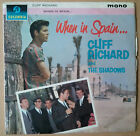 Cliff Richard and The Shadows When In Spain...LP UK MONO