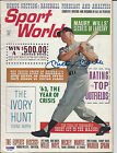 "MICKEY MANTLE PSA/DNA GRADED 10 GEM MINT SIGNED 1963 ""SPORTS WORLD"" MAGAZINE"