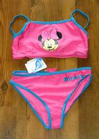 Disney Minnie Maus Bikini,Tankini, Badeanzug pink Gr. 122/128, 134/140, 146/152