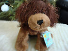 WEBKINZ*Plush/Stuffed/Beanbag*BROWN DOG*Unused/Sealed Code Tag*NEW*